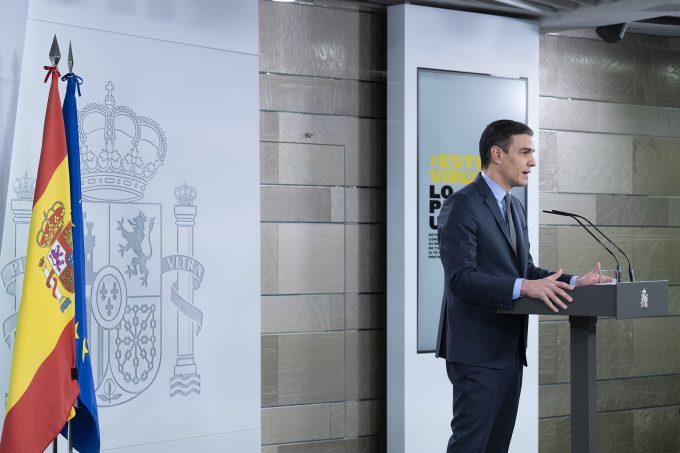 Premierul Pedro Sanchez doreşte ca UE să pună în mişcare ''un fel de economie de război''