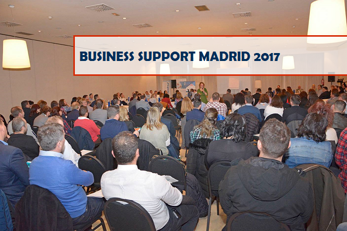 Prima ediție a celui mai important eveniment BUSINESS SUPPORT MADRID 2017, dedicat românilor din Spania