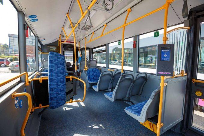 Primele zece autobuze electrice din România au fost puse în circulaţie la Cluj-Napoca