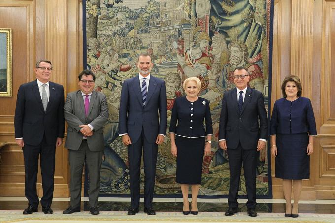 Primirea prim-ministrului Viorica Dăncilă de către Majestatea Sa Felipe al VI-lea, Regele Spaniei
