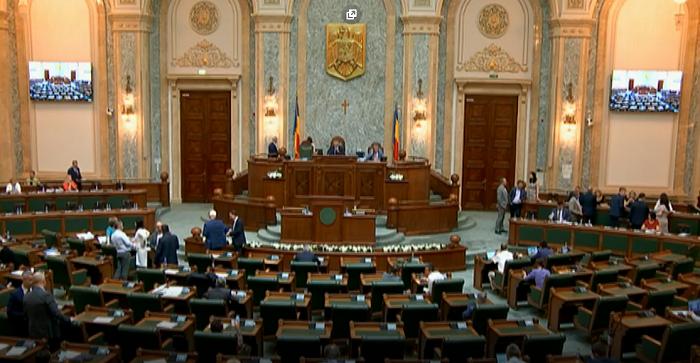 Proiectul privind Statutul de autonomie al Ţinutului Secuiesc - adoptat tacit de Camera Deputaţilor; Senatul - for decizional