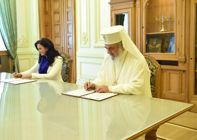 Protocol de Colaborare între Ministerul pentru Românii de Pretutindeni și Patriarhia Română