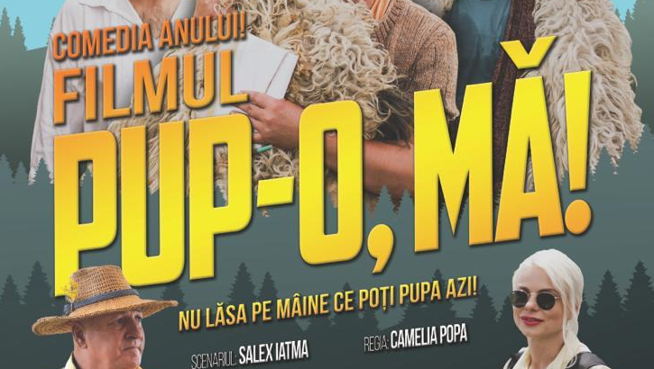 Pup-o, mă! - Comedia Anului în PREMIERĂ, în Spania: Locuri limitate-Rezervă din timp