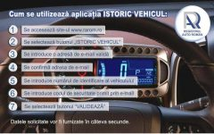 RAR lansează aplicaţia prin care se poate afla istoricul de daune al vehiculelor înmatriculate în România