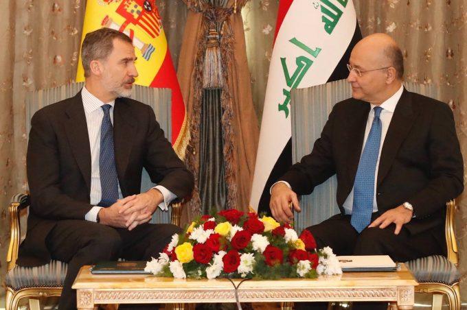 Regele Felipe al VI-lea al Spaniei, în vizită în Irak, o premieră în ultimii 40 de ani