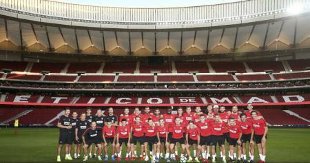 Regele Felipe al VI-lea, prezent la inaugurarea noului stadion al lui Atletico Madrid
