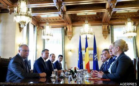 Reprezentanții UNPR, la consultările cu președintele Iohannis