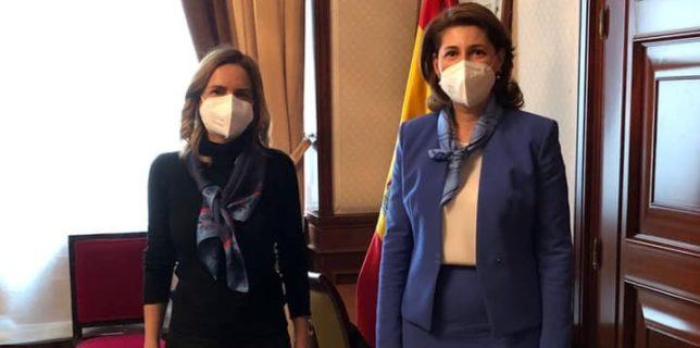 Reuniunea ambasadorului român cu președintele Comisiei mixte pentru afaceri europene din Parlamentul spaniol