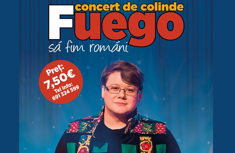 Rezervă-ți acum un bilet la Concertul de Colinde Fuego, un concert deosebit pe care nu trebuie să-l ratezi!