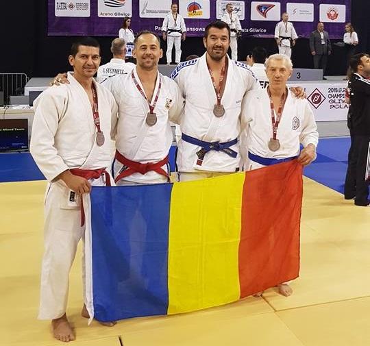 Rezultate excelente obținute de Lotul Național de Ju-Jitsu al României la Campionatul European pentru seniori și masters