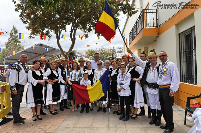 România, țară gazdă la a VII-a ediție a Festivalului Multicultural din La Barrera - Valsequillo, Gran Canaria (Spania)