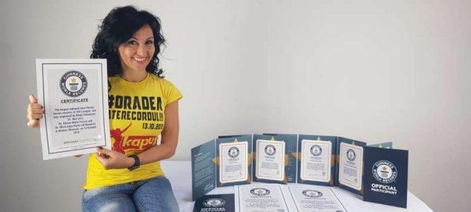 România, prin Oradea, a intrat pe ghete rebound în Cartea Recordurilor