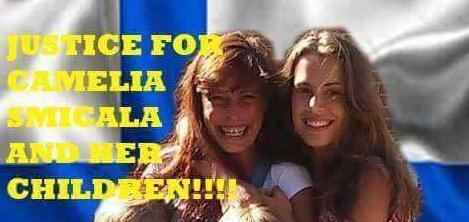 România solidară: Protest de susținere a Cameliei Smicală din Piatra Neamț, căreia autoritățile finlandeze i-au luat copiii