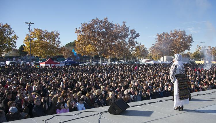 Românii din Comunitatea Madrid au petrecut la un mare festival dedicat Zilei Naționale a României