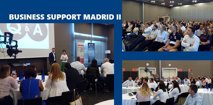 Românii din Spania au participat la a II-a ediție a BUSINESS SUPPORT MADRID