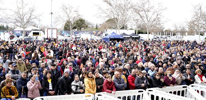Românii din Spania au sărbătorit sosirea primăverii în cadrul Festivalului de Mărțișor