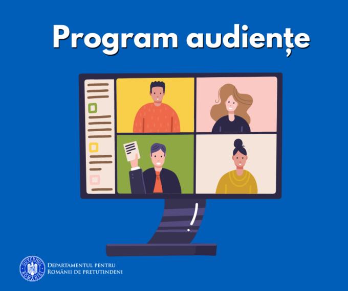 Românii din străinătate pot solicita Audiențe Online la Departamentul pentru Românii de Pretutindeni