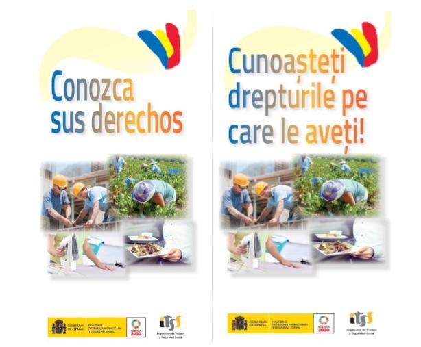 Românii pot denunța abuzurile în muncă din Spania în limba proprie: Vezi pliant în limba română