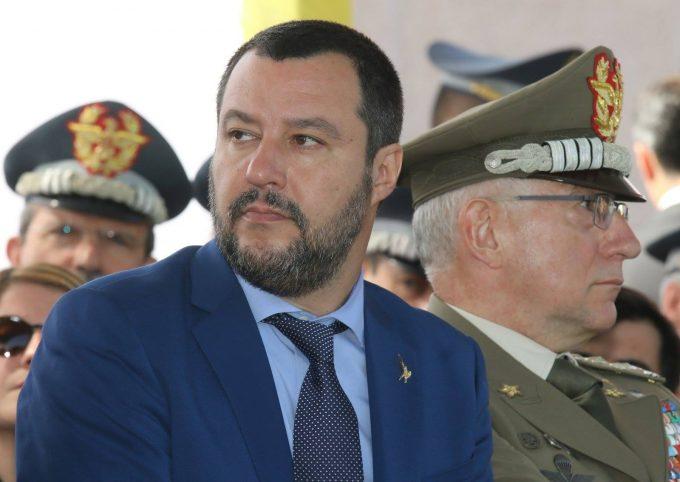 Romii din Italia vor să-i arate ministrului Salvini cine sunt ei cu adevărat (AFP)