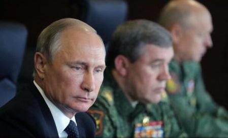 """Rusia: Putin a supervizat lansarea a patru rachete balistice în timpul testelor cu """"cele trei componente nucleare"""""""