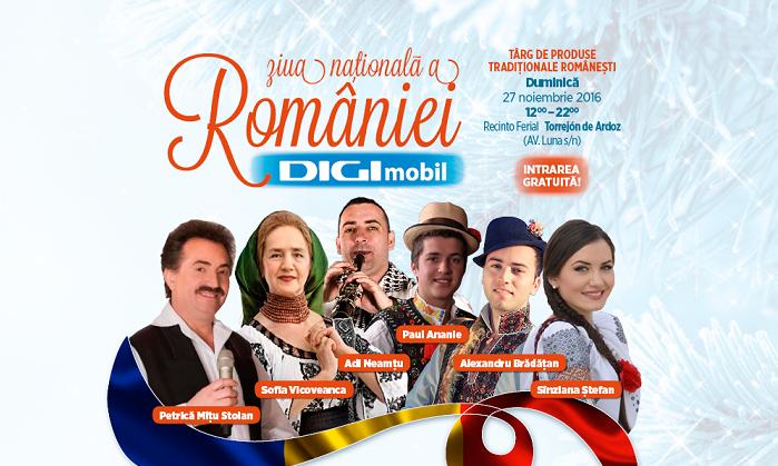 Sărbătorește Ziua Națională a României în Torrejón de Ardoz!