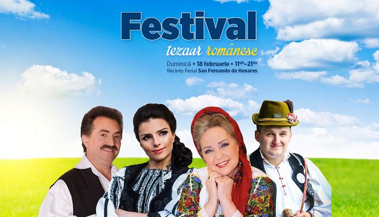 Sărbătorim împreună la Festivalul – Tezaur Românesc din San Fernando de Henares, Madrid
