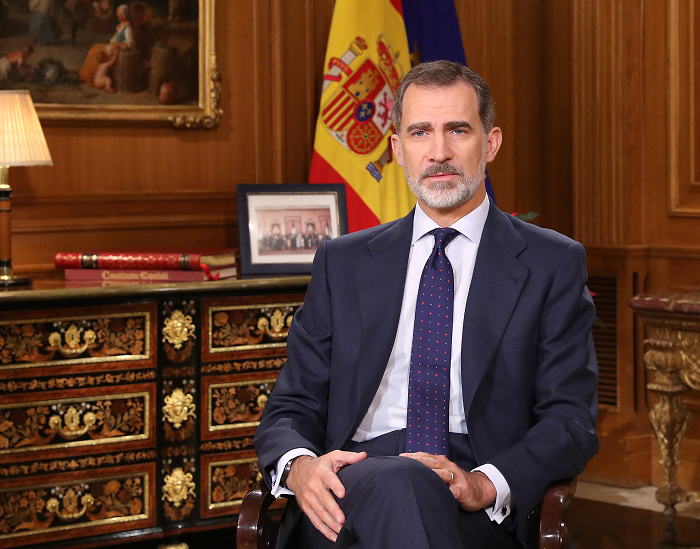 S.M. el Rey Don Felipe VI renuncia a la herencia de Don Juan Carlos que personalmente le pudiera corresponder, así como a cualquier activo, inversión o estructura financiera
