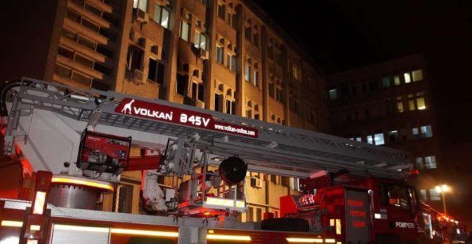 SJU Piatra-Neamţ: Secţiile ATI aveau avizul DSP; aparatura care a declanşat incendiul era nouă