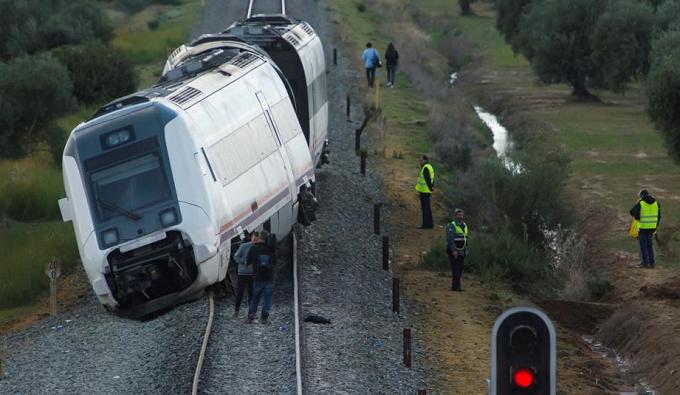 SPANIA: 35 de răniți într-un incident feroviar pe ruta Málaga-Sevilla, în dreptul localității Arahal