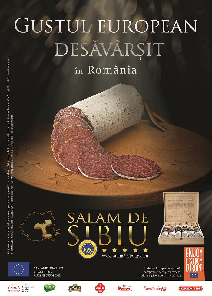 Salamul de Sibiu - Indicaţie Geografică Protejată - Gust European desăvârşit-banner-campanie