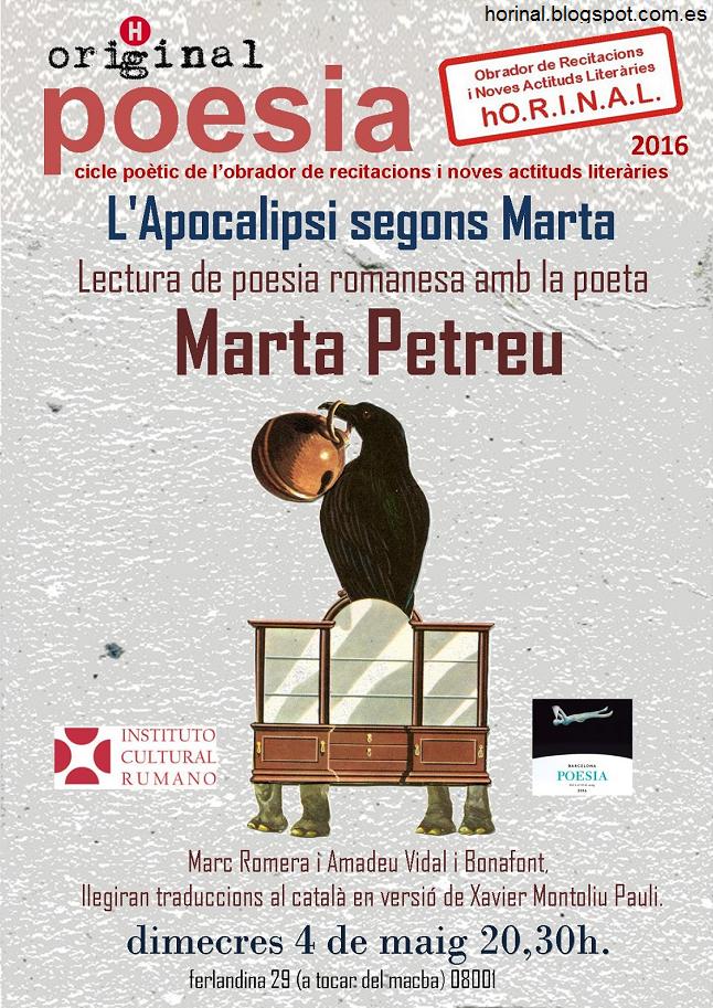 Scriitoarea Marta Petreu în turneu literar în Spania
