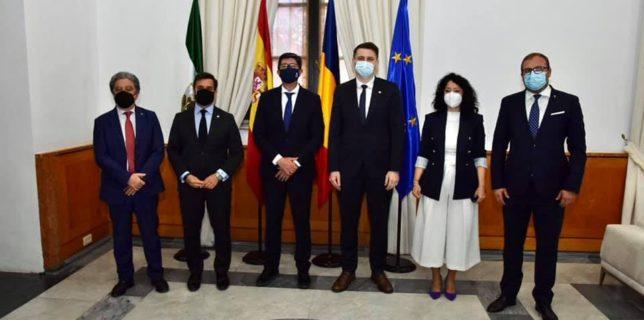 Secretarul de stat Oana Ursache și secretarul general adjunct Abrudean Mircea au avut o întrevedere cu reprezentanți ai Guvernului Autonom Andaluz