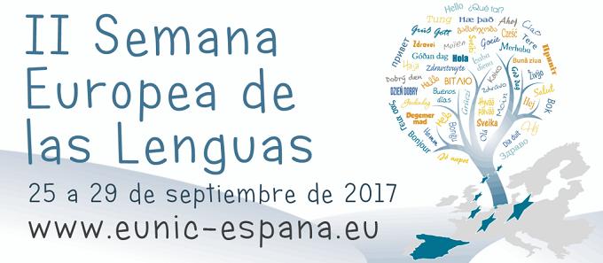 Semana Europea de las Lenguas: del 25 al 29 de septiembre 2017