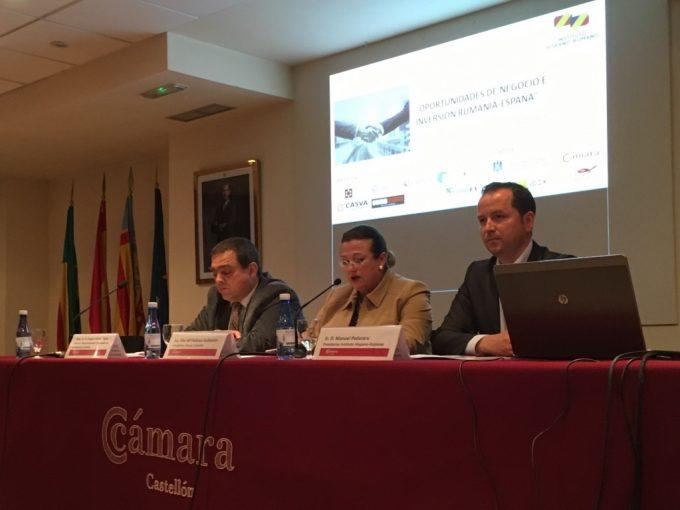 Seminar economic de promovare a României la Castellón de la Plana