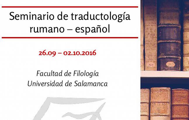 Seminario de traductología, del rumano al español, dedicado a las traducciones literarias