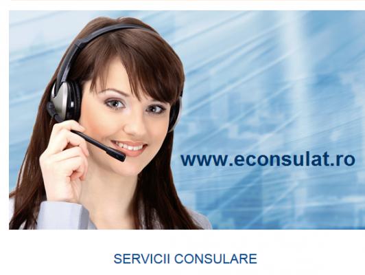 Servicii consulare mai rapide şi mai sigure prin www.econsulat.ro