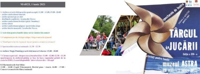 Sibiu: 22 de meşteri populari vor fi prezenţi la Târgul de Jucării din Muzeul ASTRA (28 mai - 1 iunie)