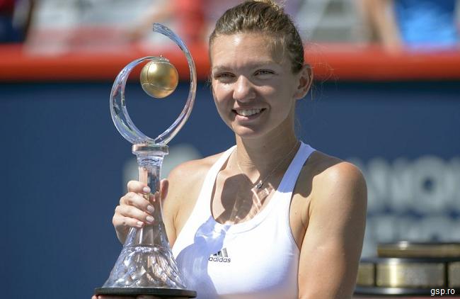 VIDEO: Simona Halep a câștigat turneul de la Montreal