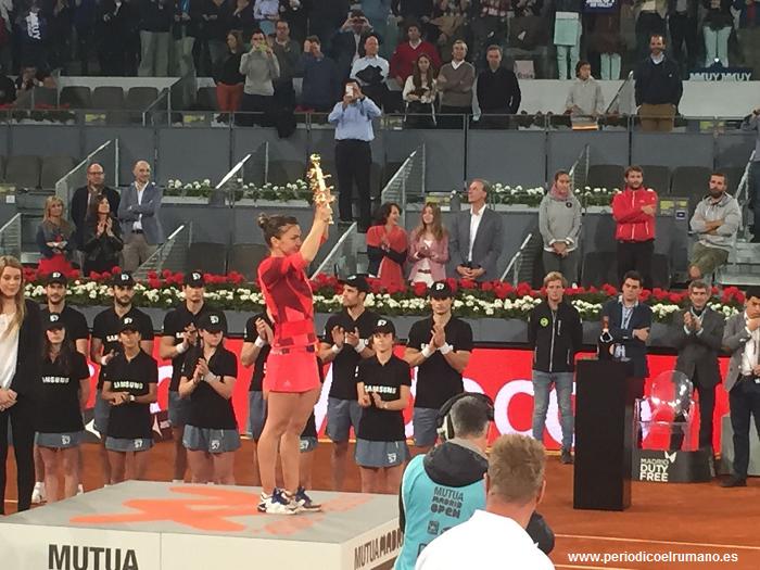 Simona Halep despre turneul de la Madrid: o săptămână de nota 9,5