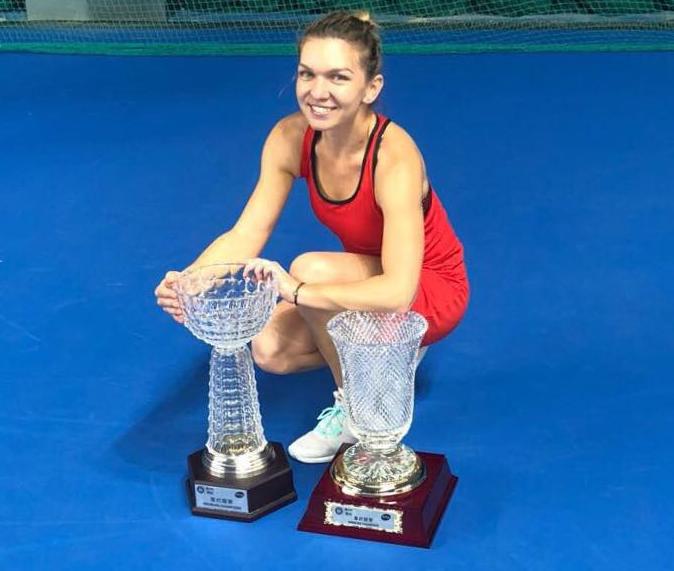 Simona Halep, lider în clasamentul WTA. Garbine Muguruza, pe locul 3