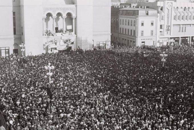 Simonis: Să mulţumim Timişoarei şi tuturor eroilor care au avut curajul să spună 'Jos comunismul'