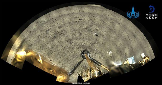 Sonda chineză Chang'e 5 a început să colecteze eşantioane de pe Lună
