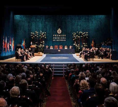 Spania: Ceremonia de decernare a Premiilor Prinţesa de Asturias 2020, desfăşurată în format restrâns