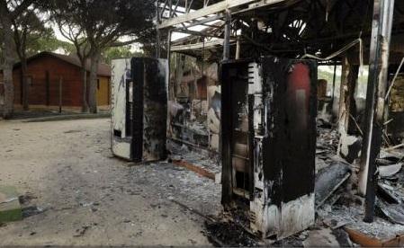Spania: Circa 2.100 de persoane evacuate din calea flăcărilor în zona Parcului natural Donana