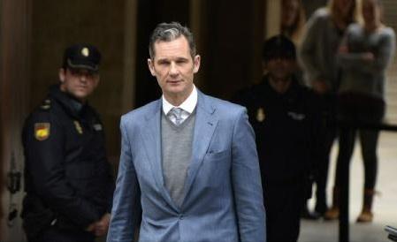 Spania: Ińaki Urdangarin, cumnatul regelui, condamnat în apel la 5 ani şi 10 luni de închisoare pentru corupţie