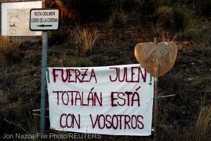 Spania - Muncă titanică pentru salvarea copilaşului căzut într-un puţ în urmă cu peste o săptămână