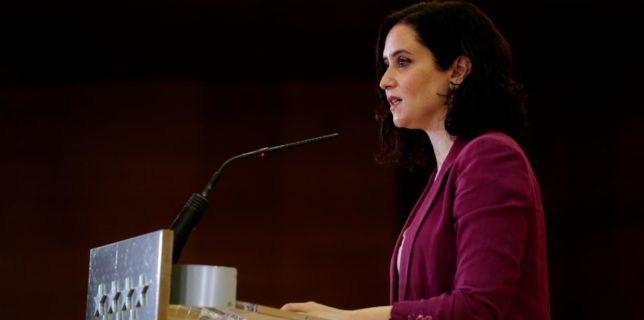 Spania: Preşedinta regiunii Madrid îşi prezintă demisia şi convoacă alegeri anticipate