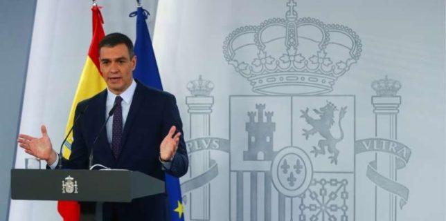 Spania: Premierul Sanchez condamnă scrisorile de ameninţare cu moartea primite de înalţi responsabili