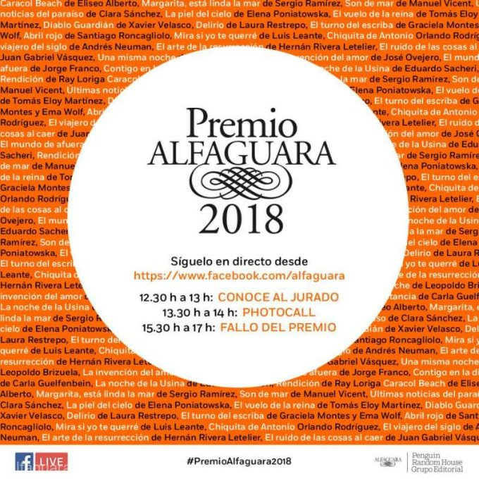 Spania: Premio Alfaguara 2018, distincţia literară pentru romanul hispanic