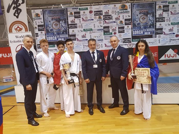 Spania: Sportivi români au cucerit aurul la Campionatul European de Kyokushin